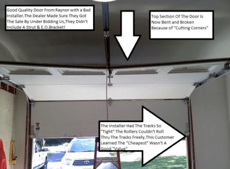 Price Vs Value Garage Door Amp More Company