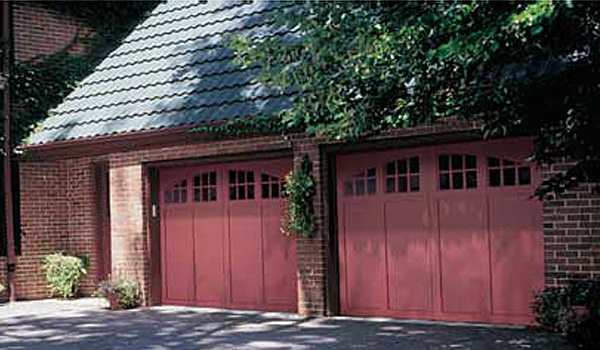 Red Carriage Doors