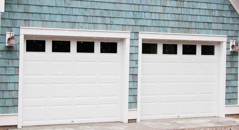 Steel Door - Double White - Cropped