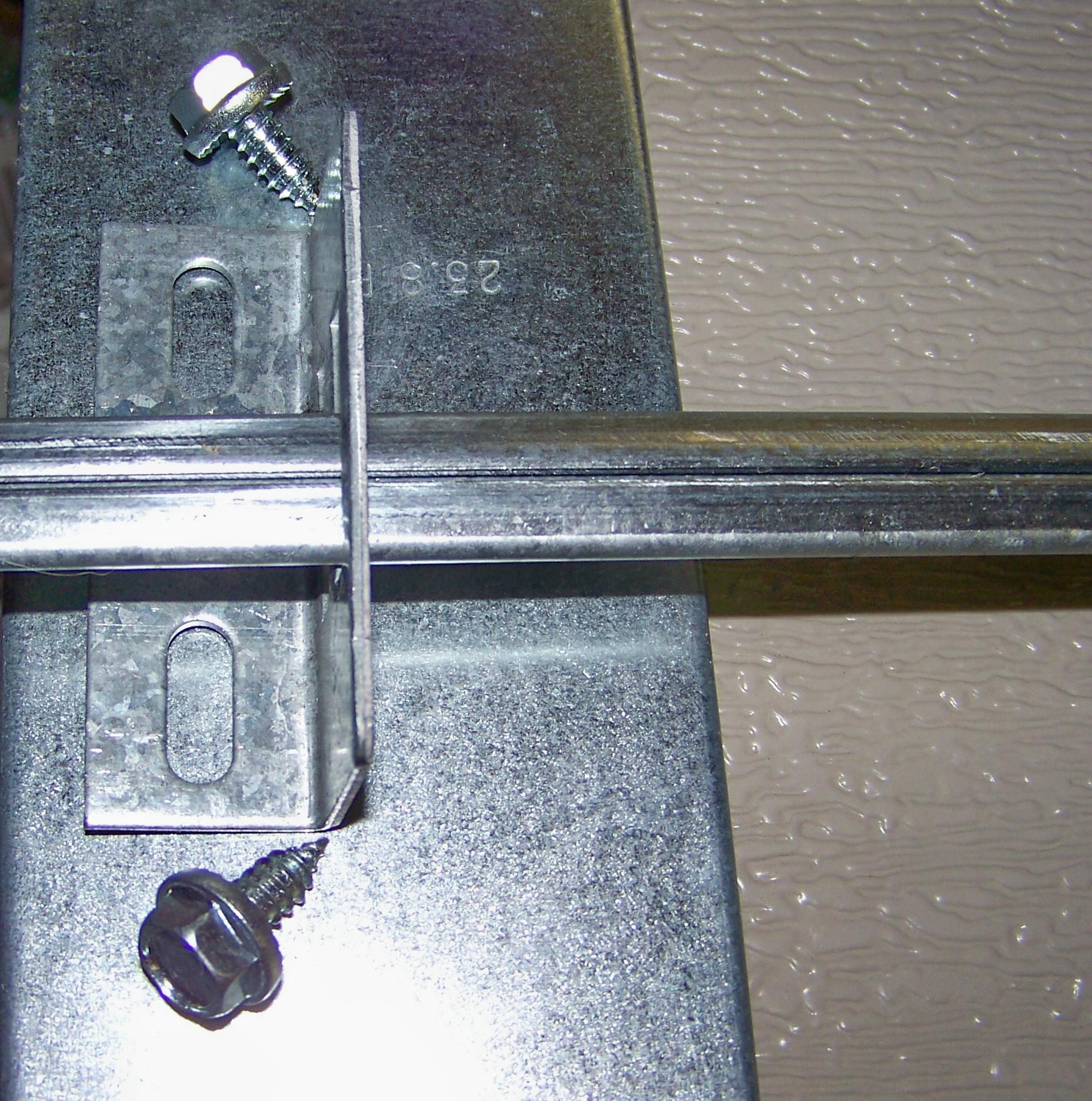 Garage Door Lock Bar Guide