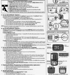 genie master remote programming instructions garage door stuff rh garagedoorstuff com genie blue max garage door [ 2245 x 2952 Pixel ]