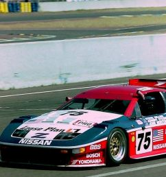 both the z31 and z32 were entered in various motorsport events the z31 scored a trans am win in 1986 at lime rock and was raced in the imsa gt championship  [ 1235 x 664 Pixel ]