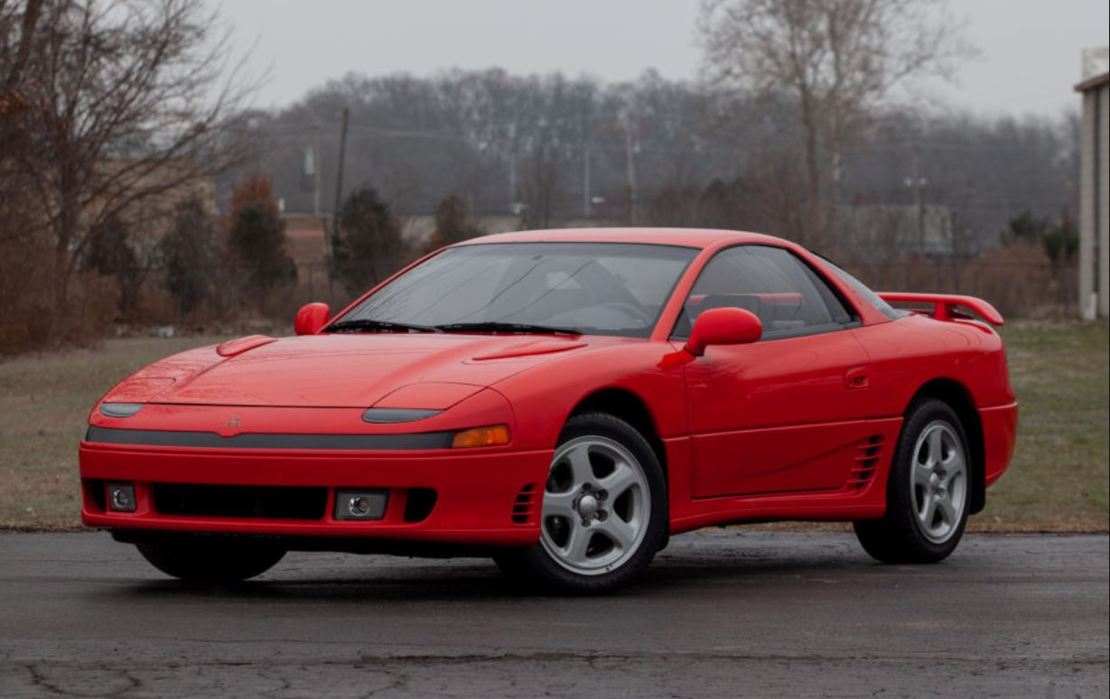 hight resolution of  the 3000gt range was branded with the name vr4 it was powered by a 3 0 litre dohc 24 valve twin turbocharged twin intercooled v6 engine vr4 models