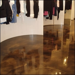 Stained Concrete Floor Boston