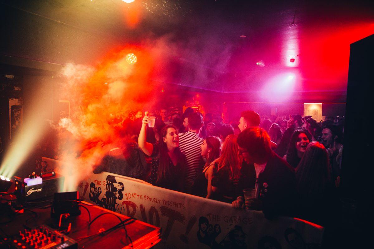 Jack Daniels Attic Bar at The Garage Glasgow