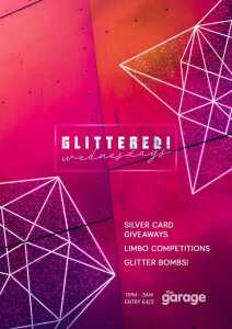 Glittered Thursdays at The Garage Glasgow