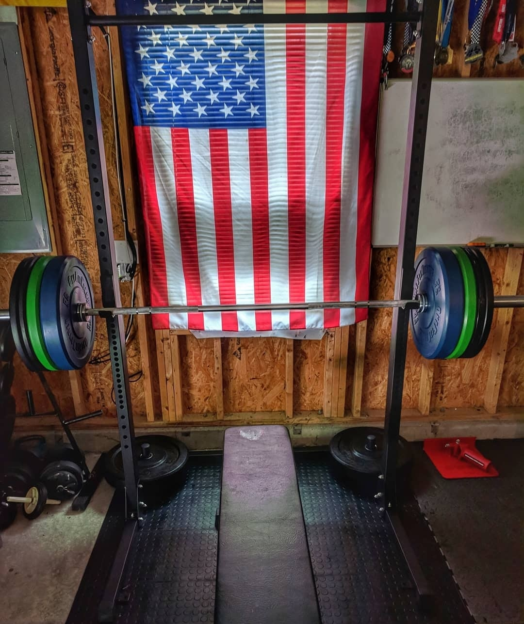 Garage Series From Fringe Sport Squat Rack With Pull Up Bar Garage Gym Experiment