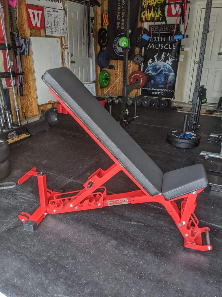 Rep Fitness Ab 5000 : fitness, AB-5200, First, Garage, Experiment