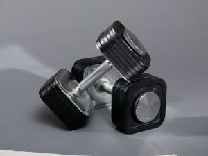 Ironmaster Quick-Lock Adjustable Dumbbell System 75-lb Set