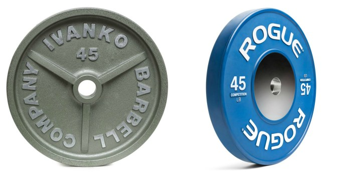 Iron/Steel Plates vs. Bumper Plates