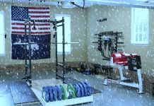Stay Warm in Your Garage Gym