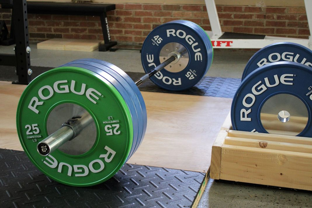 Rogue competition bumpers review garage gym lab