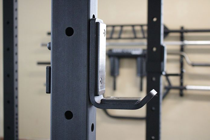 Rogue R3 Power Rack with J-Cup in Garage Gym