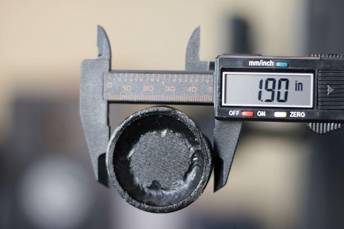 Edge Fitness Slim Football Bar Diameter