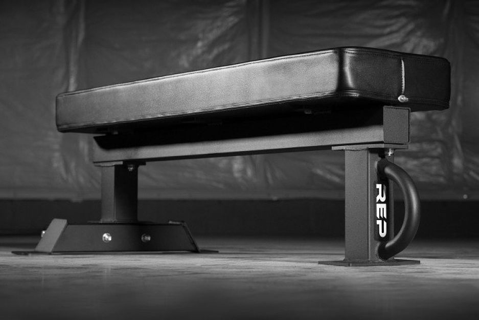Rep fitness releases a competition flat bench garage gym lab
