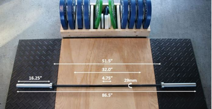 Rogue Ohio Power Bar Measurements
