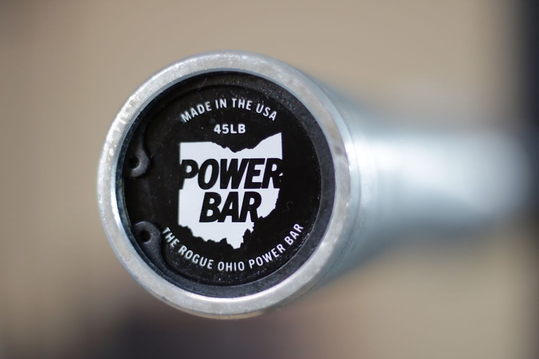Rogue ohio power bar review garage gym lab