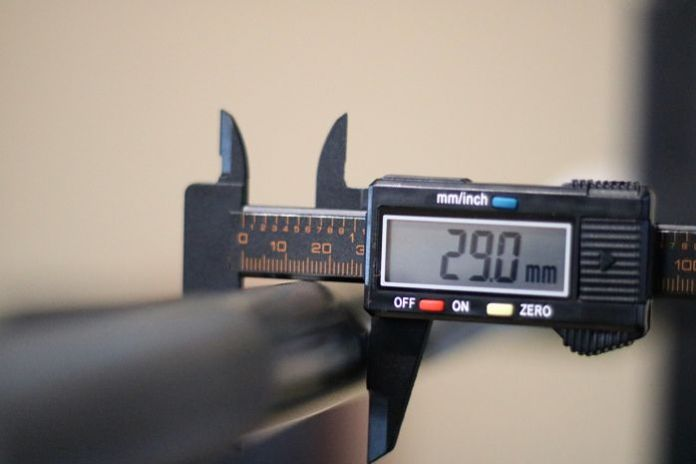 Rep Fitness Stainless Steel Power Bar Shaft Diameter
