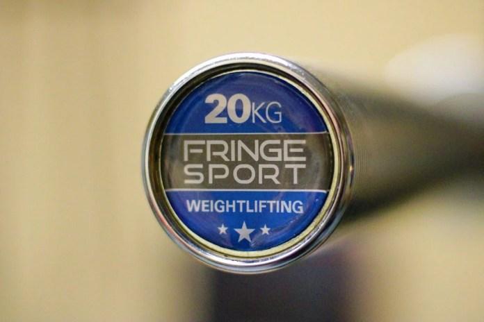 Fringe Sport Weightlifting Bar End Cap