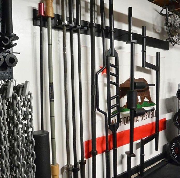 Gray Matter Lab Bars Garage Gym