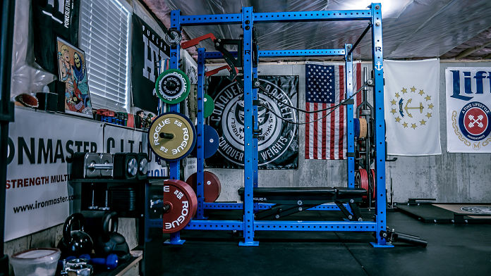 Make your own home garage gym awesome patio ideas