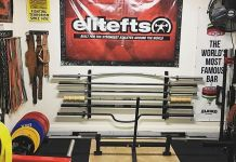 Robs Barbell Deadlift Platform Garage Gym