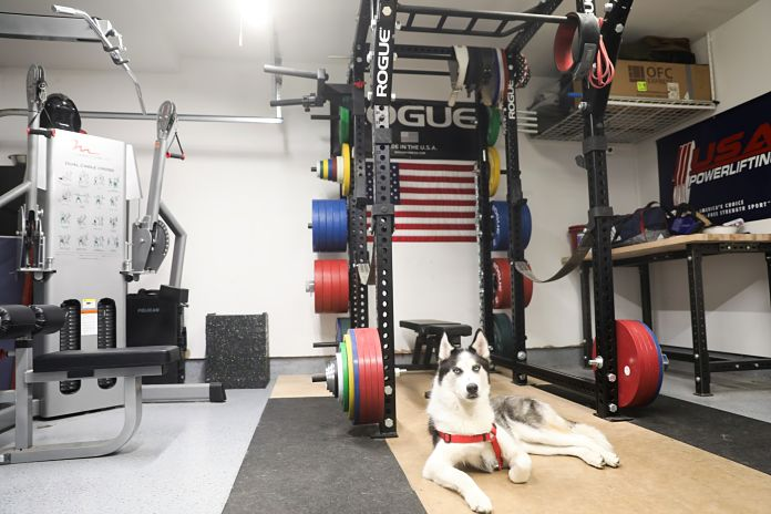 Liam Connolly Garage Gym Rack