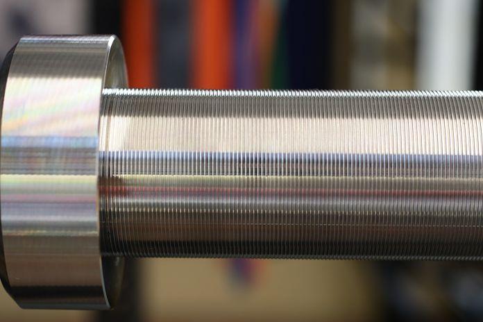 Vulcan Stainless Steel Power Bar Sleeves Garage Gym Lab