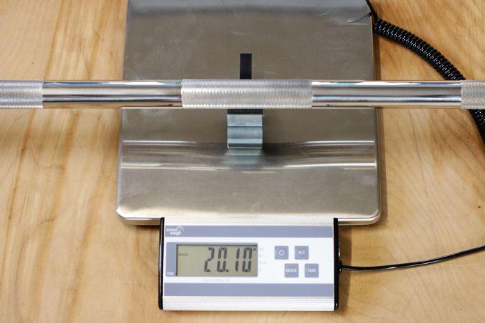 Vulcan Stainless Steel Power Bar Weight Garage Gym Lab