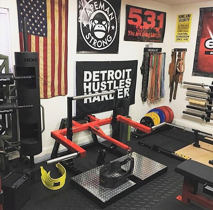Wenning Belt Squat Garage Gym