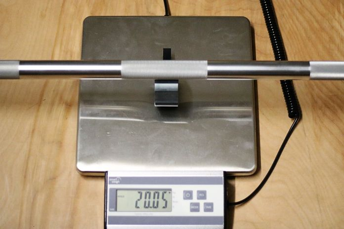 American Barbell Grizzly Power Bar Weight