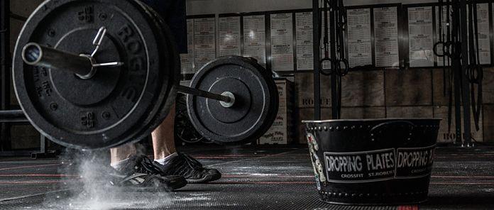 Barbell Dropping Garage Gym Lab