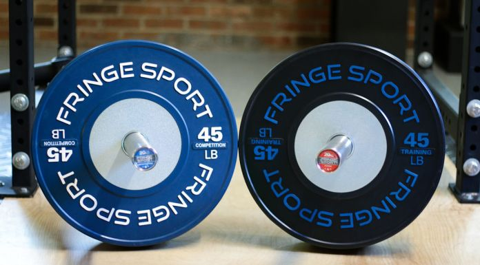 Fringe Sport Competition Bumper Plates Garage Gym Lab