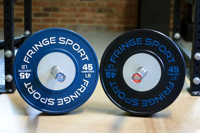 Fringe sport competition bumper plate review garage gym lab