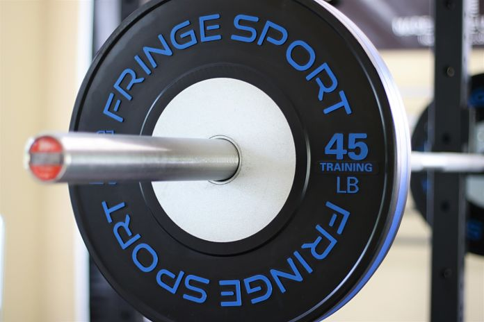 Fringe Sport Competition Training Bumper Plate Garage Gym Lab