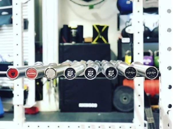 White Box Bar Collection Powerlifting Garage Gym Lab