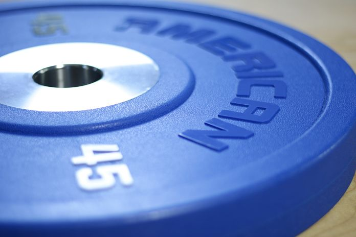 American Barbell Urethane 45 lb Specs Garage Gym Lab