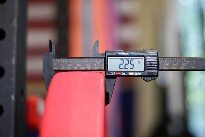American Barbell Urethane 55 lb Thickness Garage Gym Lab