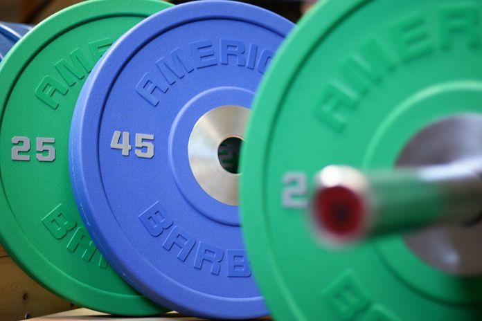 American Barbell Urethane Angle 2 Garage Gym Lab