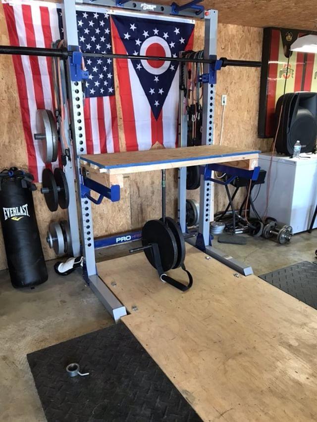 DIY Reverse Hyper - Garage Gym Lab