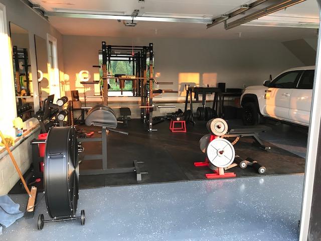 Catie's Garage Gym 8 - Garage Gym Lab