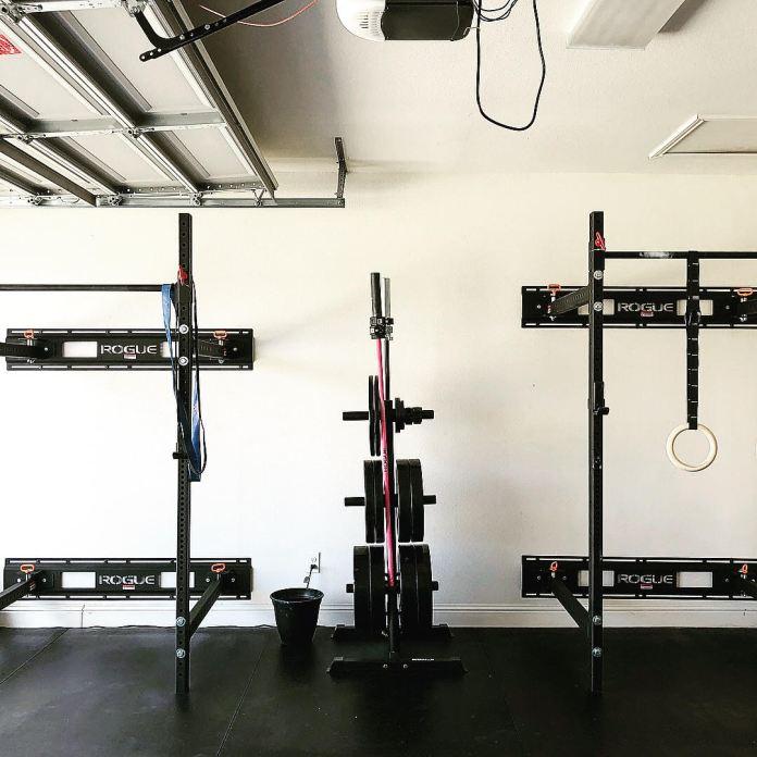 Holly and Haylie 4 Garage Gym Lab