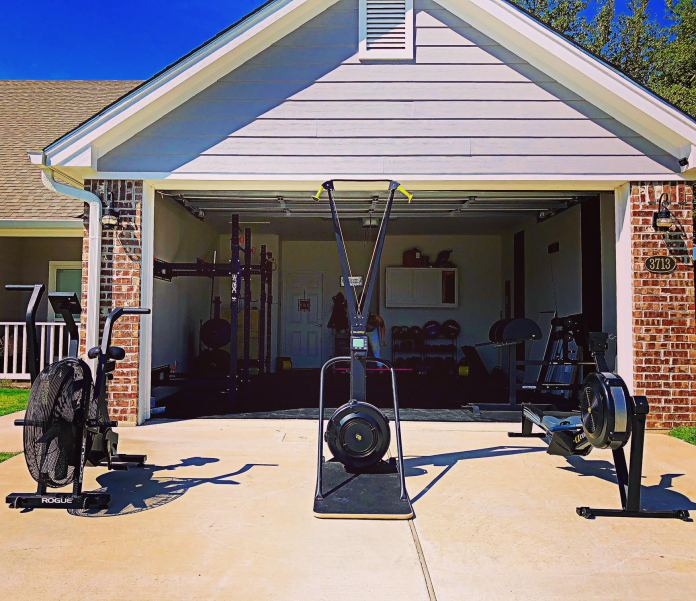 Holly and Haylie 8 Garage Gym Lab