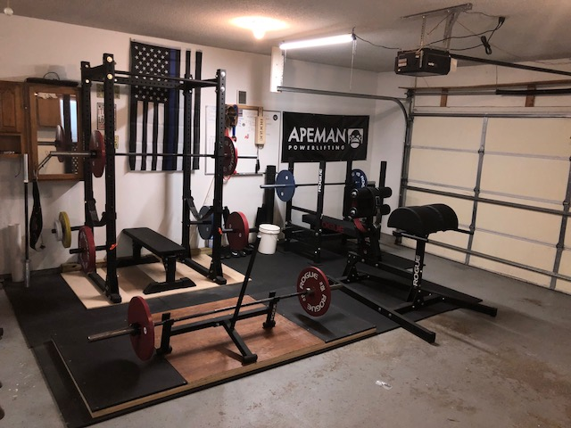 SWAT Officer's Powerlifting Garage Gym 3 Garage Gym Lab