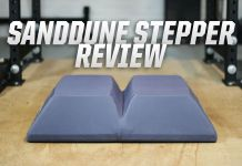 Sanddune Stepper Cover Image Garage Gym Lab