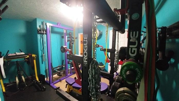 Jim & Holly Badass Home Gym Garage Gym Lab Cover