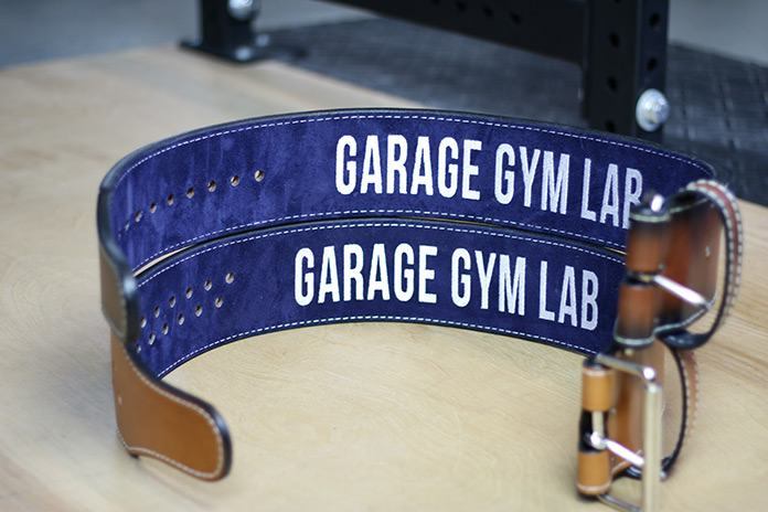 Pioneer Belts Garage Gym Lab Stacked