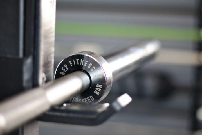 Rep Fitness PowerSpeed Bar Collar 2 Garage Gym Lab