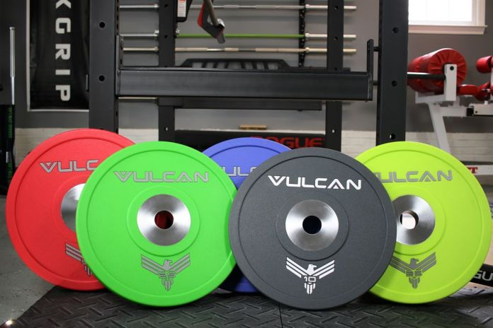 Vulcane Urethane Plates - Cover Garage Gym Lab