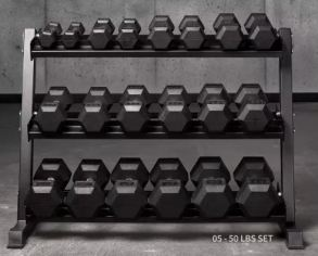 Rep Fitness Dumbbells Garage Gym Lab